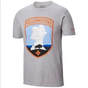 Columbia Yellowstone LOVE YOUR PARKS TEE